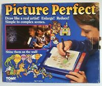 RARE HTF Vintage 1985 Tomy Picture Perfect Light Up Tracing Art Projecting Toy