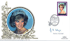 1998 Diana - Benham Small Silk BS11a - Althorp H/S - Signed The Rev. TONY LLOYD