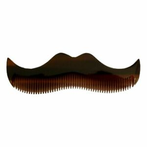 MORGAN'S Beard Comb IN Schnurrbartform From Cellulose Fine Tooth Type