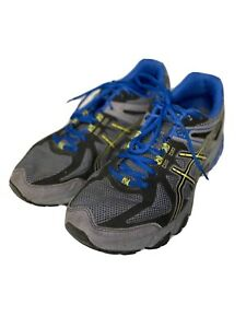 ASICS Gel-Sonoma Trail Running Shoes | Gray Blue | Size 10 | Model No T4F4N