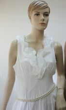 Lady Rhinestone Decor  Plastic Pearl   Waist Belt - Ideal Gift -