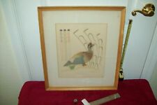 LISTED ARTIST, GERALD A. NAILOR, SILK SCREEN PRINT #1 (limited edition)