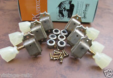 aged Kluson nickel tuners RELIC'D fit Gibson Historic Les Paul 335 SD90SLN 3L/3R