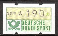 BRD 1981 Automaten-Freimarke 190er Postfrisch (A46)
