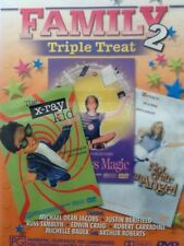 X-ray Kid, Not quite an Angel, Little Miss Magic - Family DVD  - All regions