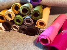 WOLLFILZ-Zuschnitte -gro�Ÿ-1-3mm stark(meistens 2-3) 100%25Wollfilz -über 40 Farben