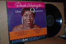 DINAH WASHINGTON: THE QUEEN; 1959 MERCURY 20439 VG++ LP