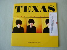 TEXAS Jump On Board sealed promo CD album Sharleen Spiteri