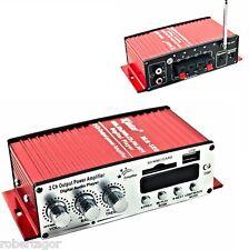 AMPLIFICATORE AUDIO 12V USB MP3 CASA AUTO 2 CANALI STEREO 40W TELECOMANDO MA120