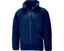 Dickies Jw81700 Padded Fleece Jacket Anti-pill Microfleece Lined Warm Mens Work XL Navy Blue