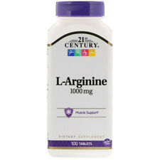 L-Arginine 1000mg per tab (or 3000mg for 3) 100 Tabs EXTRA STRENGTH Nitric Oxide