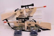 MAGNUM RUBBER BAND GUNS THE BOSS-TOMMY GUN  COMBO W/ SCOPE  GL2TBSS