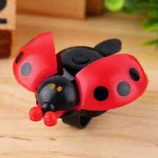 Lovely Kid Beetle Ladybug Ring Bell For Cycling Bicycle Bike Ride Horn Alarm KLJ