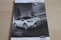 126424) Ford Focus ST - Preise & Extras - Prospekt 05/2012