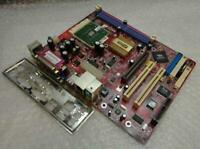 Genuine PC CHIPS M825  Socket LGA 462 Motherboard with Backplate