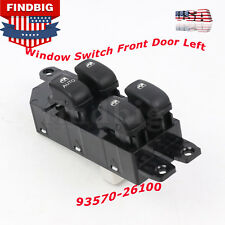 New For Hyundai 03-06 Santa Fe Window Switch Front Door Left 9357026100 USA