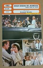 US Tennessee Williams Sweet Bird of GIOVANE PAUL NEWMAN FRANCESE PELLICOLA