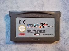2 IN 1 GT 3 ADVANCE + MOTO GP - NINTENDO GAMEBOY ADVANCE GBA e DS NDS LOOSE PAL
