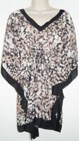NWT Calvin Klein Cheetah Bikini Swimsuit Cover Up Sizes S/M & L/X MSRP $78 #7159