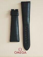 Brand New Omega 24mm Black Crocodile Strap No. 98000351 - STUNNING STRAP