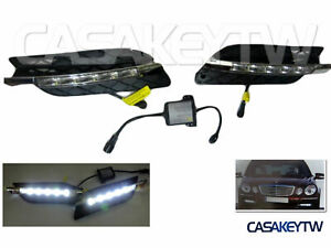 NEW LED FOG LIGHTS DRL DAYTIME RUNNING LAMP For 2006~08~2009 Mercedes Benz w211