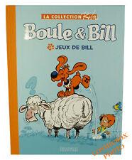 Tirage de luxe toilé avec bonus BOULE & BILL JEUX de BILL collection eaglemoss