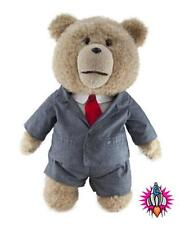 "OFFICIAL TED THE MOVIE SUIT LARGE 18"" TALKING DELUXE PLUSH SOFT TOY TEDDY BEAR"