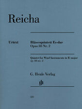 Reicha Quintet Wind Instruments in E-flat Major Op 88 No 2 Henle Urtext Book