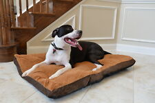 Armarkat Faux Suede Washable Dog Pet Bed Mat Mocha Extra Large XL