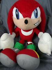 "30"" LARGE Knuckles Sonic The Hedgehog Plush Stuffed Animal Sega Toy Network"