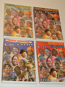 LOT DVD AFRIQUE africain LE GRIN africa CAMARA PRODUCTION