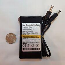 DC 12300 3000 mAh DC 12V Super Lithium Polymer Battery Pack