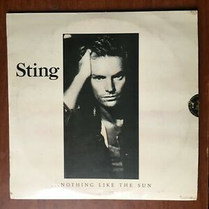 Sting – ...Nothing Like The Sun [1987] Vinyl LP Rock Pop A&M Records Fragile