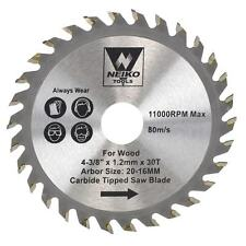 """Table Saw Blades for Wood Carbide Tipped 4-3/8"""" inch x 30 Teeth"""