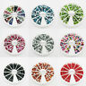 1200 Rhinestones 3mm acrylic crystal gems Wheel case Nail Art Diamante Bling