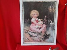 after, LISTED ARTIST, FREDERICK MORGAN, SIGNED AND DATED  LITHOGRAPH