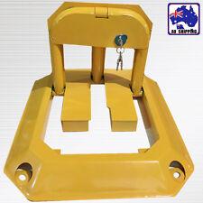Parking Barrier Fold Down Vehicle Security Bollard Car Safety Lock VQLC69808