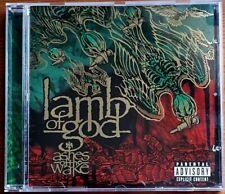 LAMB OF GOD LoG ASHES OF THE WAKE 2004 11 TRACK CD ALBUM EPIC THRASH METAL