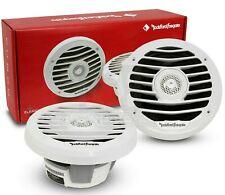 ROCKFORD FOSGATE PM2652X 6.5 INCH 2-WAY CAR BOAT MARINE AUDIO WHITE SPEAKERS