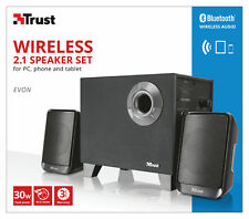 TRUST 21184 22415 2.1 EVON 30W WIRELESS BLUETOOTH +WIRED OPTION SPEAKER SET
