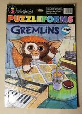 Vintage 1984 Colorforms Gremlins Puzzleforms Large 30 Piece Puzzle GUC