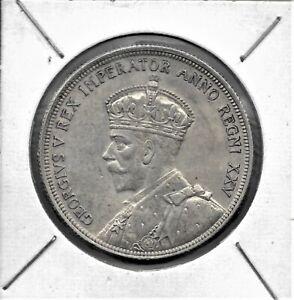 1935 CANADA $1 George V One Dollar Silver Coin KM#31