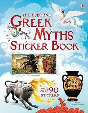 Usborne Greek Myths Sticker Book by Rosie Dickins BRAND NEW (Paperback, 2016)
