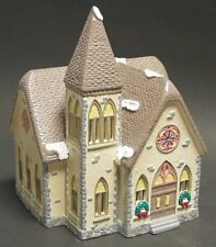 "* Dept 56 Snow Village Lot ""Redeemer Church"" + ""Praying Monks"" - Nib *"