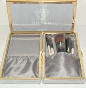 Bobbi Brown Travel Brush Set 6 Pc NIB Velvet Case Full Coverage Eye Shadow Kit