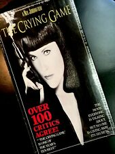 THE CRYING GAME VHS (1992, Stephen Rea, Jaye Davidson, Forest Whitaker) SEALED