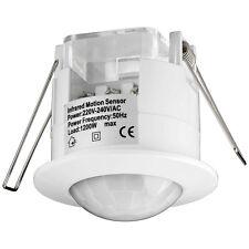4 Stück Infrarot Bewegungsmelder Unterputzmontage LED geeignet für Innenräume