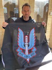 More details for new *sas flag signed by 22 sas legend colin maclachlan - d sqn, blue team leader