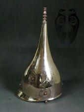 16GA Brass Medieval Knight Warrior Reenactment Roman Celtic Helmet