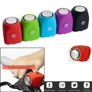 Bike Bicycle Bell Horn Cycling Electronic Loud Handle Bar Ring Battery Alarm